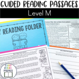 Guided Reading Passages: Level M