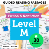 Guided Reading Passages - Level M