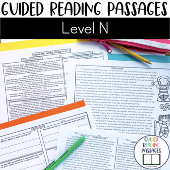 Guided Reading Passages: Level N