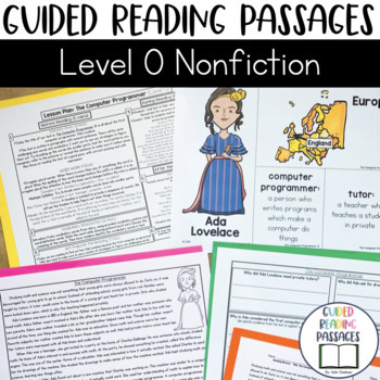 Guided Reading Passages: Level O (Non Fiction)