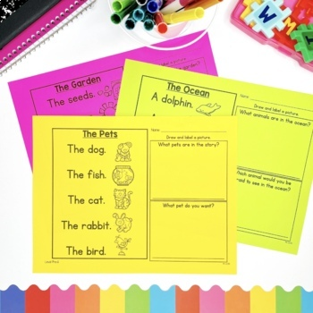 Guided Reading Passages: Level Pre-A