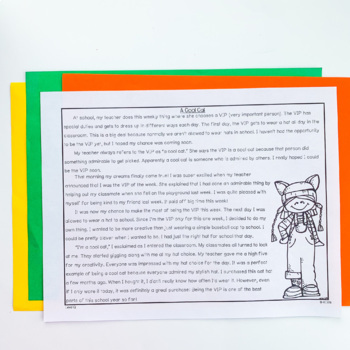 Guided Reading Passages: Level Q