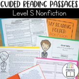 Guided Reading Passages: Level S (Non Fiction)