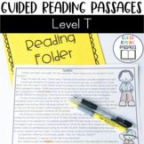 Guided Reading Passages: Level T