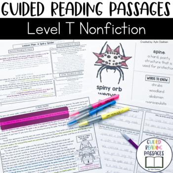 Guided Reading Passages: Level T (Non Fiction)