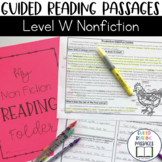 Guided Reading Passages: Level W (Non Fiction)