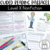 Guided Reading Passages: Level X (Non Fiction)