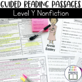 Guided Reading Passages: Level Y (Non Fiction)
