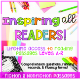Guided Reading Passages Levels A- R (Fiction and Nonfiction)