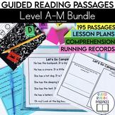 Guided Reading Passages Mega Bundle: Level A-M