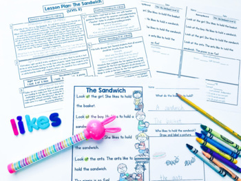 Guided Reading Passages: Spring Edition {Level A-D}