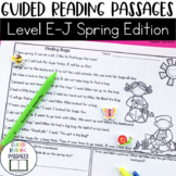 Guided Reading Passages: Spring Edition {Level E-J}