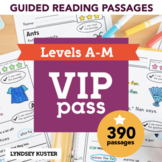 Guided Reading Passages VIP Pass   390 Passages   Growing Bundle