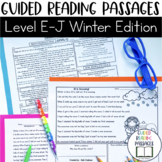 Guided Reading Passages: Winter Edition {Level E-J}