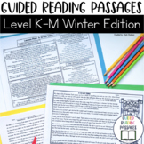 Guided Reading Passages: Winter Edition {Level K-M}