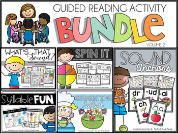 Guided Reading Phonics Activities Vol. 2