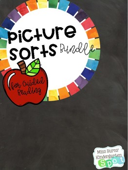 Guided Reading Picture Sort Bundle