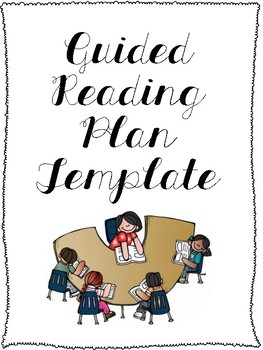 Guided Reading Plan & Notes Template