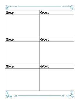 Guided Reading Plan Outlines