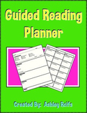 Guided Reading Planner!