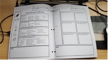 Guided Reading Planner & Assessment Sheet