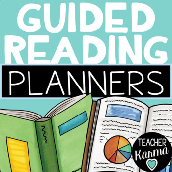 Guided Reading Planner - Organizer for Small Reading Groups or Intervention
