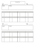 Guided Reading Planning Form
