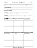 Guided Reading Lesson Plan Template for all levels A-Z