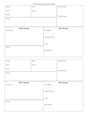Guided Reading Planning Sheet Freebie