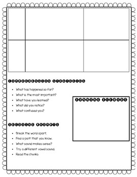 Guided Reading Planning Template