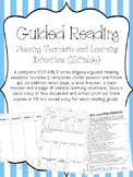 Guided Reading Planning Template and Learning Intentions