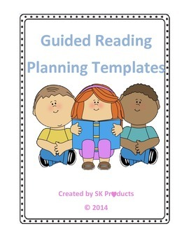 Guided Reading Templates-Editable