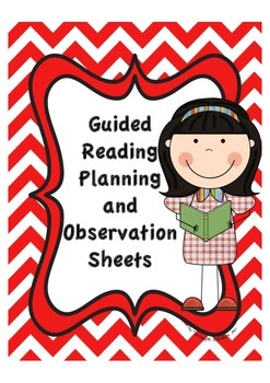 Guided Reading Planning and Observation Pages Free