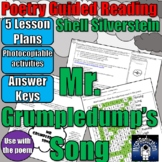 """Guided Reading Plans: POETRY - Shell Silverstein """"Mr Grump"""