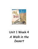 Guided Reading Plans for A Walk in the Desert