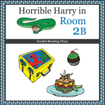 Horrible Harry in Room 2B Guided Reading Plans (Common Cor