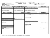 Guided Reading Plus Template for the Guided Reading Resource Toolkit   Grade 3