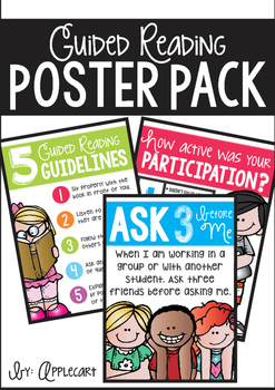 Guided Reading Poster Pack
