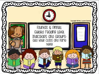 Guided Reading Poster Set [BUNDLE]: Kindergarten & Grade 1 * Levels A to L