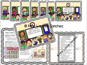 Guided Reading Poster Set [BUNDLE]: Kindergarten Through Grade 2 * Levels A to P
