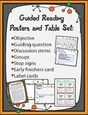 Guided Reading Posters and Table Set