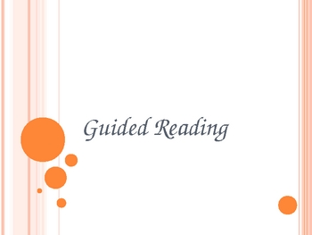 Guided Reading Power Point