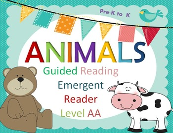 Guided Reading Animals