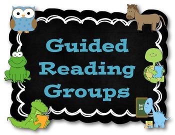 Guided Reading Resources {Record Keeping, Organizers & Posters}
