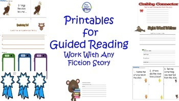 Guided Reading Printables for Differentiated Instruction