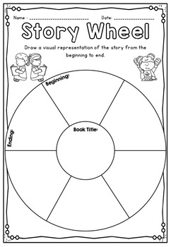 Guided Reading Printables for any book