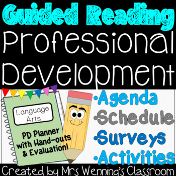 Guided Reading Professional Development Planner