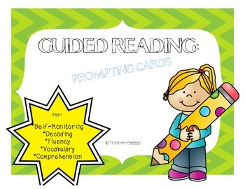 Guided Reading Prompting Cards