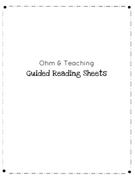 Guided Reading Prompts