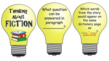 Guided Reading Question Leads For Deep Thinking and Test Preparation